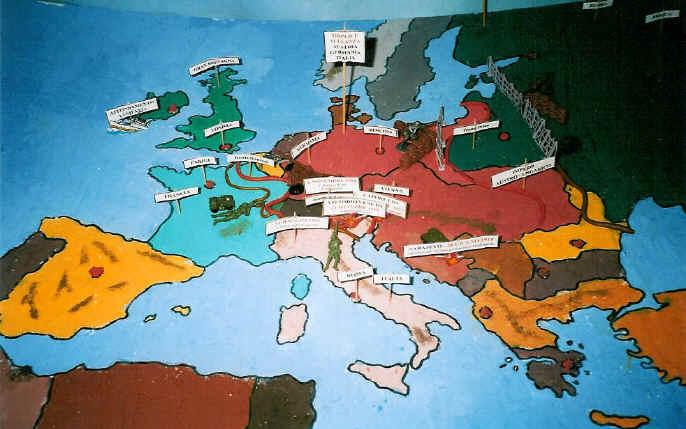 La Prima Guerra Mondiale Cartina.Prima Guerra Mondiale