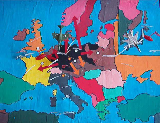Cartina Mondo Seconda Guerra Mondiale.Seconda Guerra Mondiale